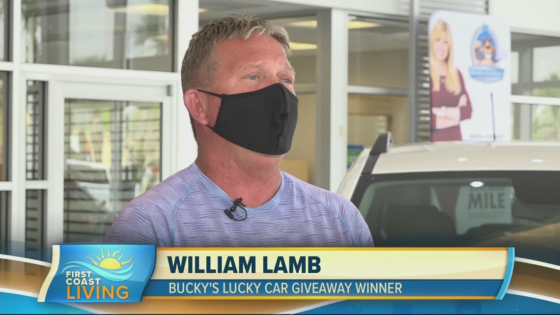 Bucky's Lucky Car Giveaway 2021