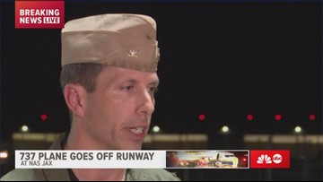 'It's a miracle:' NAS Jax commanding officer on plane going into river with no fatalities