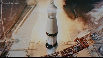 He wasn't on the moon, but he helped shape Apollo 11's history