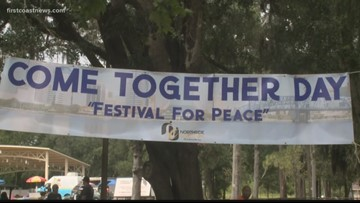 Northside Coalition holds 'Come Together Day' to foster peace and combat violence in Jacksonville
