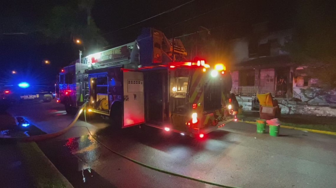 House catches fire in historic St. Augustine neighborhood