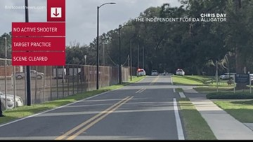 Shots fired near UF College of Veterinary Medicine was target practice