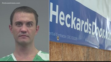 Custom door maker in Jacksonville area accused of not doing work he's paid for, gets arrested