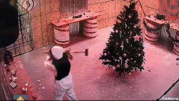 Business booming at Orange Park 'rage room' as people smash their holiday stress away