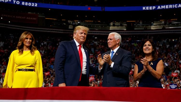 President Trump kicks off 2020 campaign in Orlando
