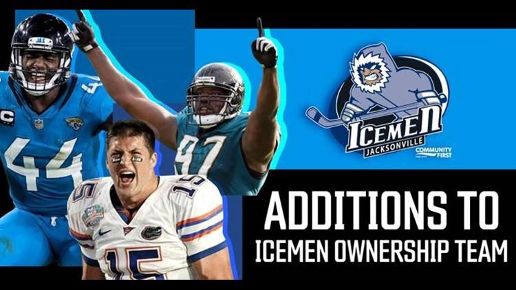 Myles Jack, Tim Tebow, Reggie Hayward join Icemen ownership team