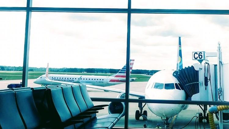 Canceled flight strands passengers at Jacksonville airport for Easter