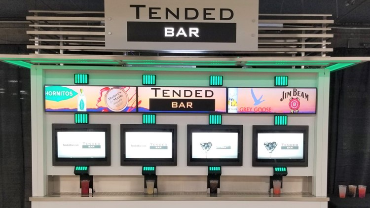 The TendedBar is open: Jacksonville-based company officially debuts automated bar at Jaguars game