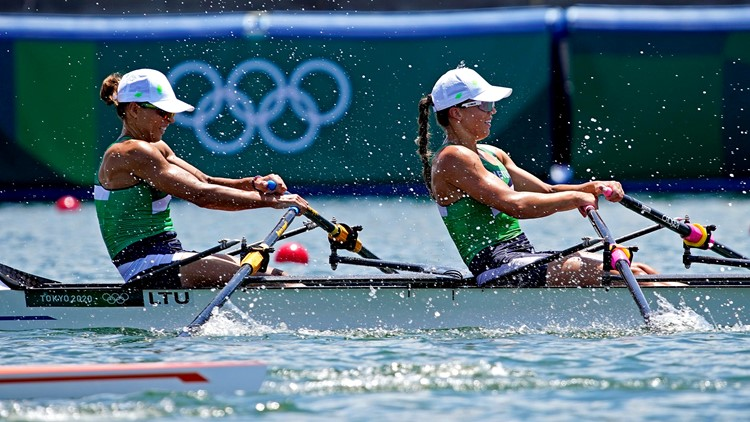 The Buzz: Oysters nearly interrupt Tokyo Olympics rowing events