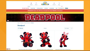 Build-A-Bear released a 'Deadpool' bear and Twitter users are freaking out about it