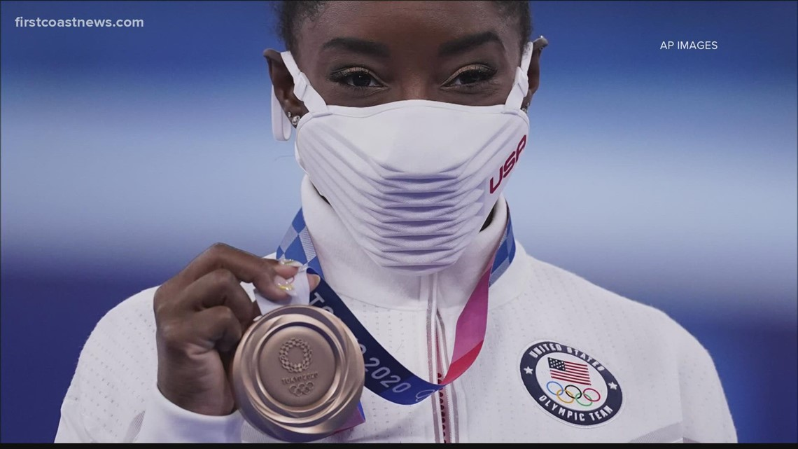 Olympic 'Wow' Moment: Simone Biles helps teach others that putting yourself first is essential