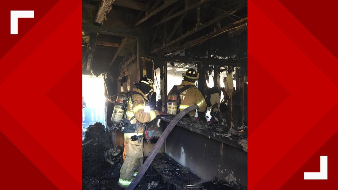 PHOTOS: House burns down in Hilliard