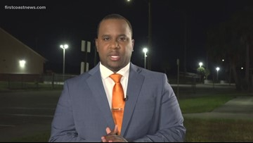 Crisis counselors at Terry Parker Monday after 16-year-old student shot during spring football game