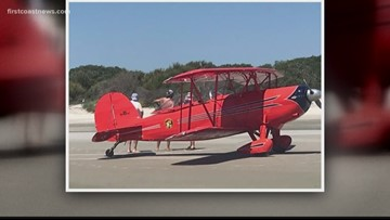 Pilot runs out of gas, safely lands on Jekyll Island