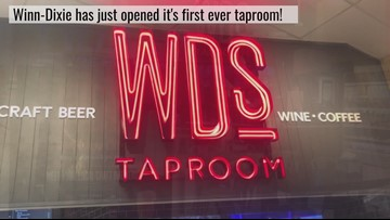 Winn-Dixie to add first ever taproom inside store in Jacksonville