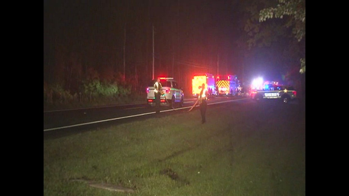 3 dead, 5 injured in wrong-way crash in St. Johns County