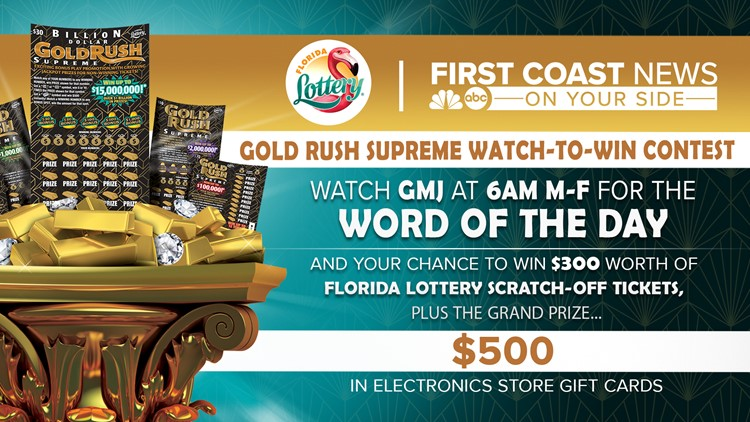 Watch GMJ for chance to win with the Florida Lottery