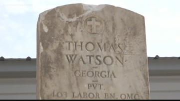 Headstone of human remains found in Duval County matches name of Baltimore woman's great-grandfather