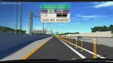 I-295 Express Lanes to open this weekend, expect to pay a toll