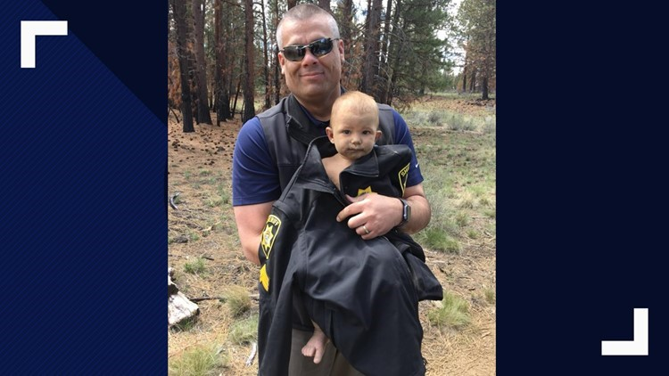 Baby found in Oregon woods