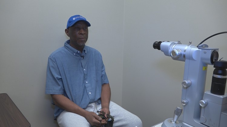 Professor from the Bahamas receives life-changing cornea transplant for free in Jacksonville