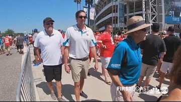 Fans offer advice on how to keep cool at Jaguars hot season opener vs. Kansas City Chiefs