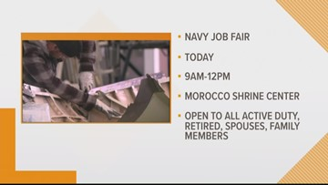 Navy to hold Tri-Base Job Fair on Wednesday