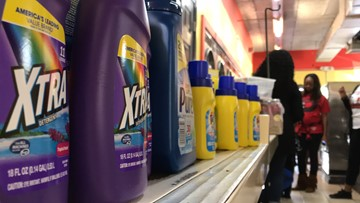 Northside church gives free laundry, gas to community members in need