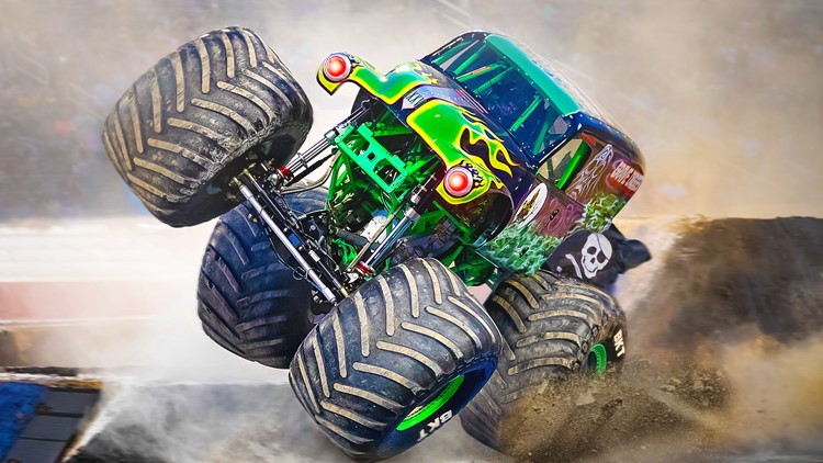 Monster Jam makes a comeback in Jacksonville with 12 drivers and girl power on the track