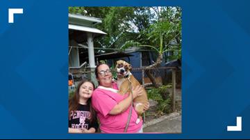 Grant from Jacksonville Humane Society, ACPS helps family keep stray dog