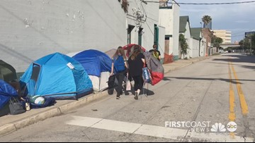Fans camping out in heat for Twenty One Pilots' Jacksonville concert