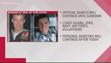 Active search for missing firefighters suspended after seven days of searching
