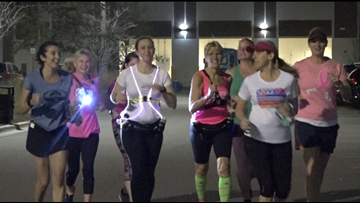 Breast cancer survivor rises before the sun to train friends for DONNA Marathon