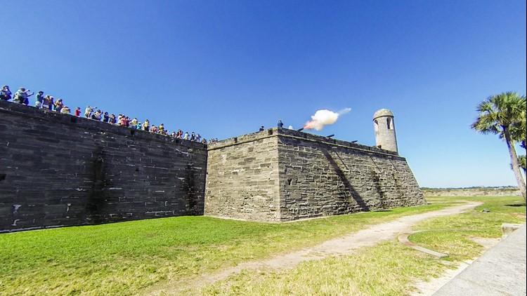 Castillo de San Marcos requiring all visitors to wear masks inside buildings