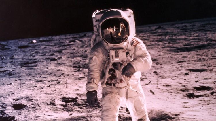 Apollo 11 astronauts return to launchpad 50 years later