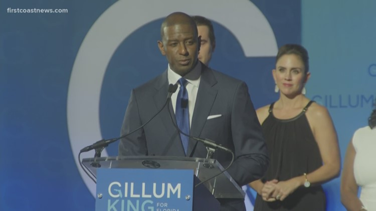 WATCH: Andrew Gillum concedes Florida Governor race to Ron DeSantis
