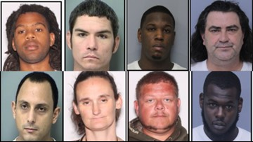 LIST: 13 still wanted after massive drug-dealing sweep in St. Johns Co.