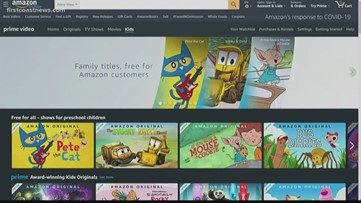 Buzz: Kids bored? Amazon offering 40+ kids shows for free