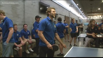 Icemen host Charity Ping Pong Tournament
