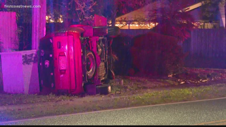 JFRD: Person taken to hospital after being extracted from crashed vehicle