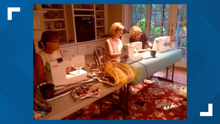 12 Who Care: Sharon Meehan sews brand new dresses for little girls in need