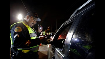 SLOW DOWN: JSO will be conducting checkpoints at these locations Tuesday night