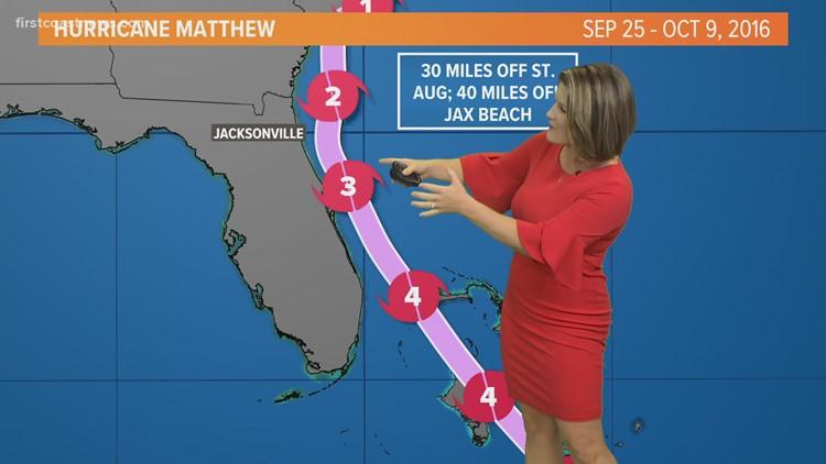 Meteorologist Lauren Rautenkranz recaps Hurricane Matthew's track from 2016