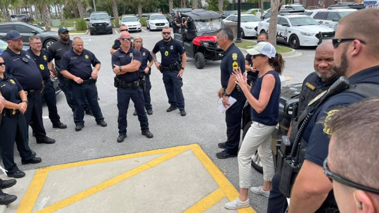 'More cops than Orange Crushers': Orange Crush organizers question need for high police presence