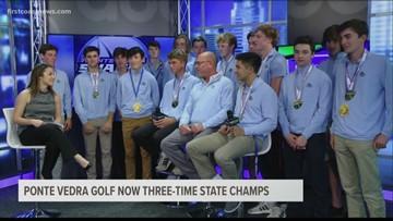 State Champ Ponte Vedra Golf Team LIVE In-Studio