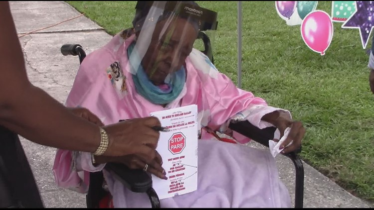 Jacksonville woman votes on her 108th birthday, hopes to inspire others