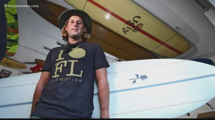 Jacksonville native wins World Surf League Longboard title
