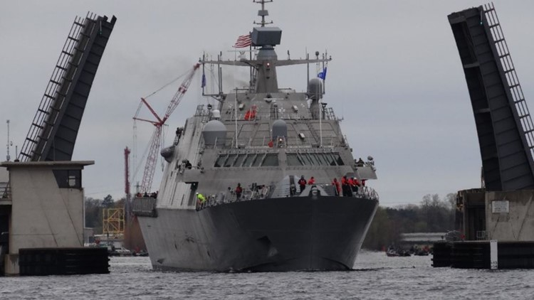 Future Mayport based ship involved in a collision in Canada