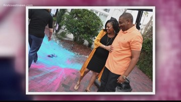 Keitha Nelson is expecting twins-- a boy and a girl!