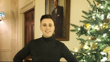 'I did not see this happening': said Jacksonville man who helped decorate White House for holidays